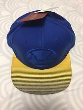 NWT GOLDEN STATE WARRIORS SNAPBACK UNDERVISOR MITCHELL & NESS CURRY DURANT GSW