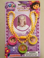 5 Dora the Explorer bottle cap necklaces