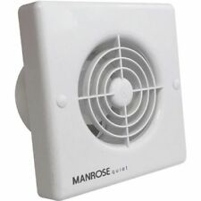 Manrose White Bathroom Extractor Fans