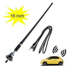16 Car Audio Radio Flexible Rubber Amfm Amplifier Antenna Mast With Ball Base