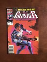 The Punisher #5 (1986) 7.5 VF Marvel Key Issue Copper Age Comic Book Newsstand