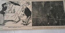 Funambule Baldwin traversant un ravin sur une corde de 185 m Image Print 1909