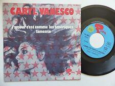 CARYL VANESCO L amour c est comme les Amériques 121383 l Discotheque RTL