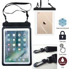 Waterproof Dry Bag Underwater Pouch Case Cover Strap for iPad Pro 9.7'' Tablet