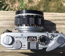 Canon 50mm f/0.95 Lens and Canon 7SZ Rangefinder Camera DREAM LENS BOKEH