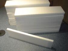 "24pc 3""x12""x1/2"" Styrofoam Polystyrene Flats Sheets 6 Free Sheets Total 30pc"