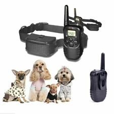 Pet Dog Shock Training Collar Electric Trainer E-Collar Remote Waterproof