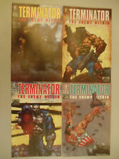 Lot of 4 comics Terminator Enemy Within #1-4 Dark Horse robot future assassin