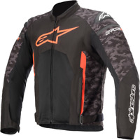 Alpinestars T-GP Plus R V3 Air Jacket Black Camo/Red 4XL