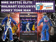WWE MATTEL Elite RETROFEST HONKY TONK MAN - Wrestling Action Figur WWF Basic WCW