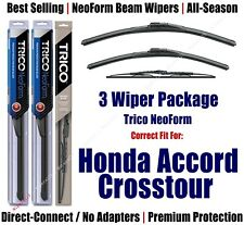 3pk Wipers Front/Rear NeoForm 2010-2015 Honda/Accord Crosstour 16260/190/30210