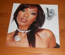 Brandy Full Moon 2001 Promo 2-Sided Flat Square Poster 12 x 12 RARE