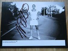 Handsignierte Autogrammkarte *ANDREA PETKOVIC* Tennis Deutschland WTA Motiv: 2