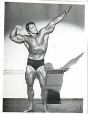 ARNOLD SCHWARZENEGGER 7x Mr Olympia  Bodybuilding Muscle Photo B&W