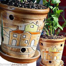 Orchideen-Topf - Orchideentopf - Pflanztopf - Blumentopf  - Übertopf  Keramik