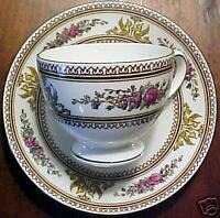 Wedgwood COLUMBIA W595 Cup and Saucer