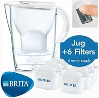Brita Marella Jug of Water Filtered with 12 Cartridges Maxtra + for 6 Months