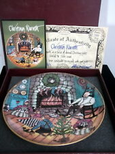 P. Buckley Moss 'Christmas Warmth' Ltd. Edition Plate