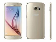 Téléphones mobiles dorés Samsung Galaxy S6, 32 Go
