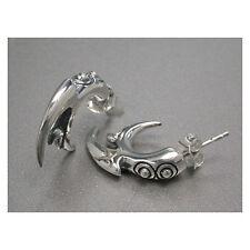 Wild Dangerous Punker Studs Earrings - Sterling Silver .925 Punk!