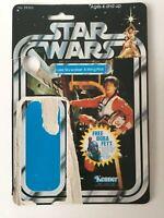 Star Wars Vintage Luke Skywalker X-Wing Pilot Original 20 BK Kenner Card Back