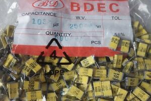 10PCS ITW 0.01UF 250V 103 Thousand layer cake non inductive coup capacitor
