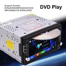 "2 DIN 6.2"" Car Stereo DVD CD Player GPS Navigation Radio BT FM Rear view Camera"