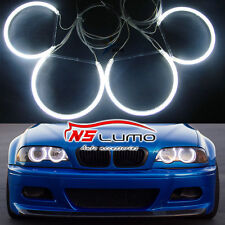 For BMW E46 Non-HID Halogen Headlight CCFL Led Angel Eyes Halo Ring Kit Lamp