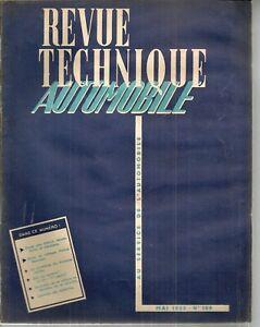 REVUE TECHNIQUE AUTOMOBILE 109 RTA 1955 SIMCA COMETE MONTE CARLO VEDETTE VENDOME