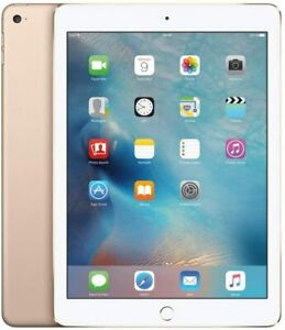 Apple iPad Air 2 Retina 16GB, Wi-Fi and Cellular  9.7in Good Condition Gold