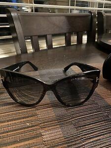 Tom Ford Women's Anoushka Sunglasses - Black