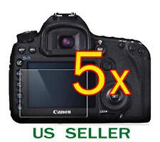 5x Canon EOS 760D Rebel T6s Camera Clear LCD Screen Protector Guard Shield Film