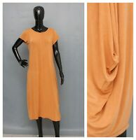 Dress BITTE KAI RAND Asymmetric Cocoon Mustard Orange Draped M