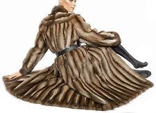 XL 2XL Bisam Mantel Weich Nerzmantel Pelzmantel fur coat Pelz fourrure musqué