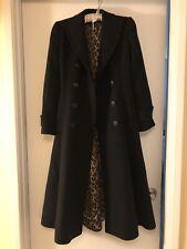 Dolce & Gabbana Long Wool Dress Coat Italy 38/xs