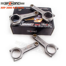 Forged Connecting Rods + ARP2000 Bolts for Nissan Datsun L18 620 710 Conrods