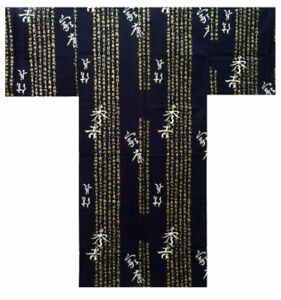 Authentic Men's Yukata / Kimono (Japanese Summer Pajama): Hideyoshi #889