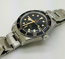 New S.Steel TUDOR Heritage Black Bay 58 Automatic Diver Watch M79030n-0001