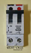 MEM-adsn100r - 100A AC22B doppio polo switch disconnector USATO