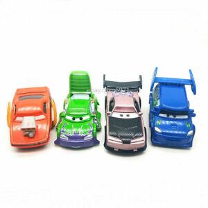Disney Pixar Cars Lot 4 DJ, Boost, Snot Rod, Wingo, Metal Diecast Toy Car Loose