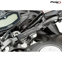 PUIG 9256N RINFORZO CENTRALE PER MANUBRIO NERO YAMAHA 700 MT-07 TRACER 16-17