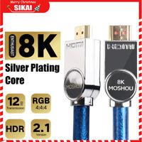 miglior cavo hdmi 8K ARC CEC Alta Velocità V2.1 HD Per Ps3 Ps4 Xbox One Tv Sky Q