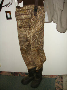Cabelas Super Mag Duck Hunting Waders 1600 gm Size 7