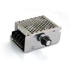 Voltage regulator Voltage Speed Controller SCR Dimmer + Shell AC 220V 4000W