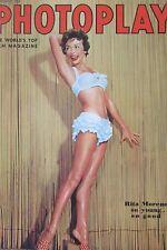 CINEMA REVUE PHOTOPLAY de 1954 RITA MORENO BRANDO WIDMARK BILL HOLDEN STEWART
