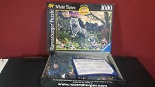 White Tigers 1000 Pieces Ravensburger Jigsaw Puzzle