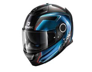 Shark Spartan Guintoli Carbon Fibre Motorcycle Motorbike Helmet XS S L XL XXL