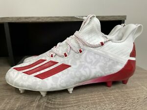 Adidas Adizero Young King Football Cleats FU6708 Floral RED Men's Size 11.5