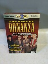 BONANZA BEST OF - DVD. Home theater dvd 2 pack collection