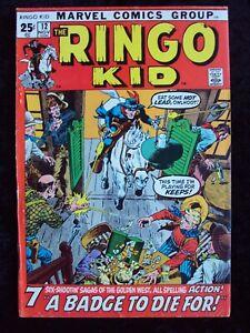 RINGO KID #12 GIANT ISSUE! MARVEL COMICS WESTERN